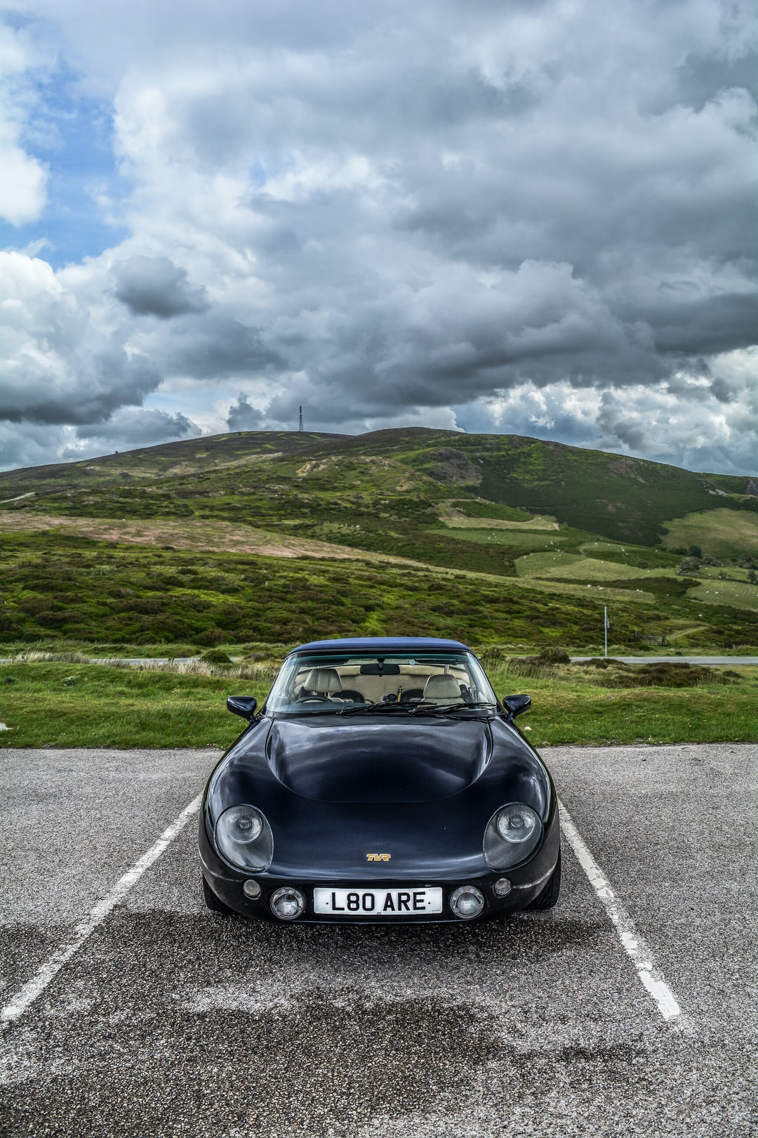 A lonely TVR Griffith...