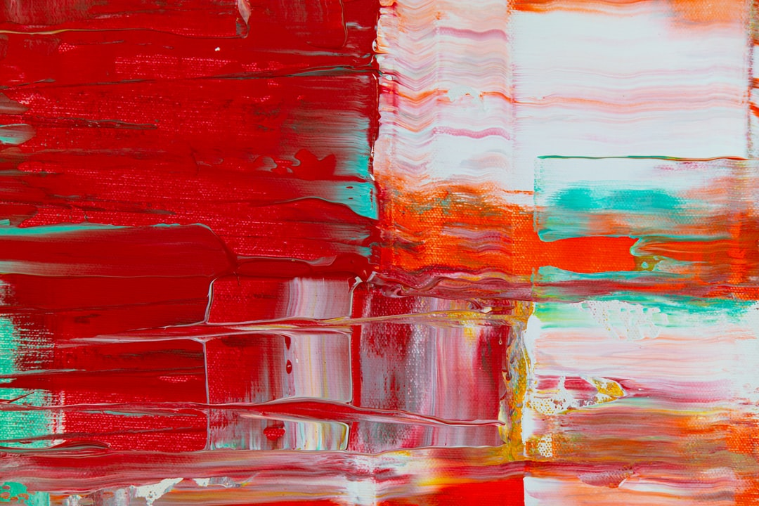 Detail From Abstract Painting By Steve Johnson - unsplash