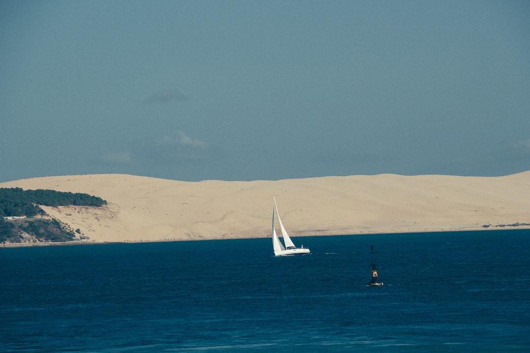 Le voilier et la dune