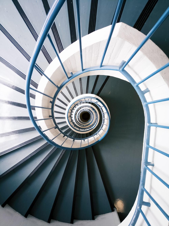 empty twirl stairs