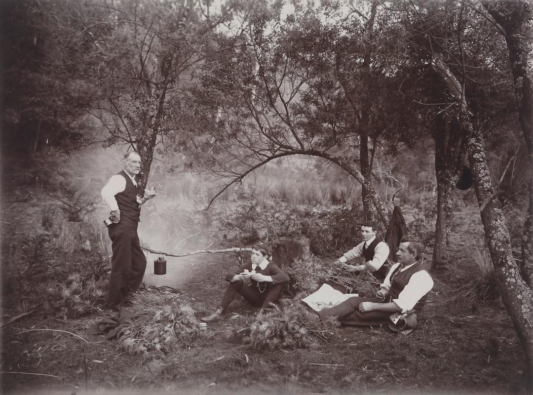 Collecting Wattle, Archibald James Campbell, Dandenong Ranges, Victoria, Circa 1900 photographer: A.j. Campbell - unsplash