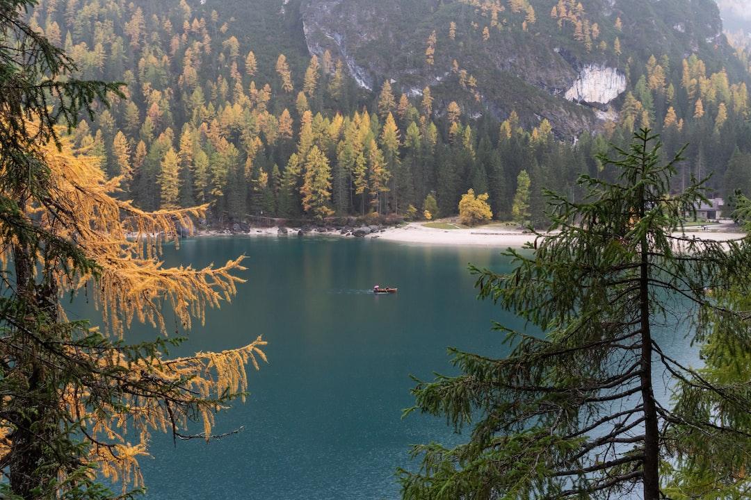 Boat On Lake - unsplash