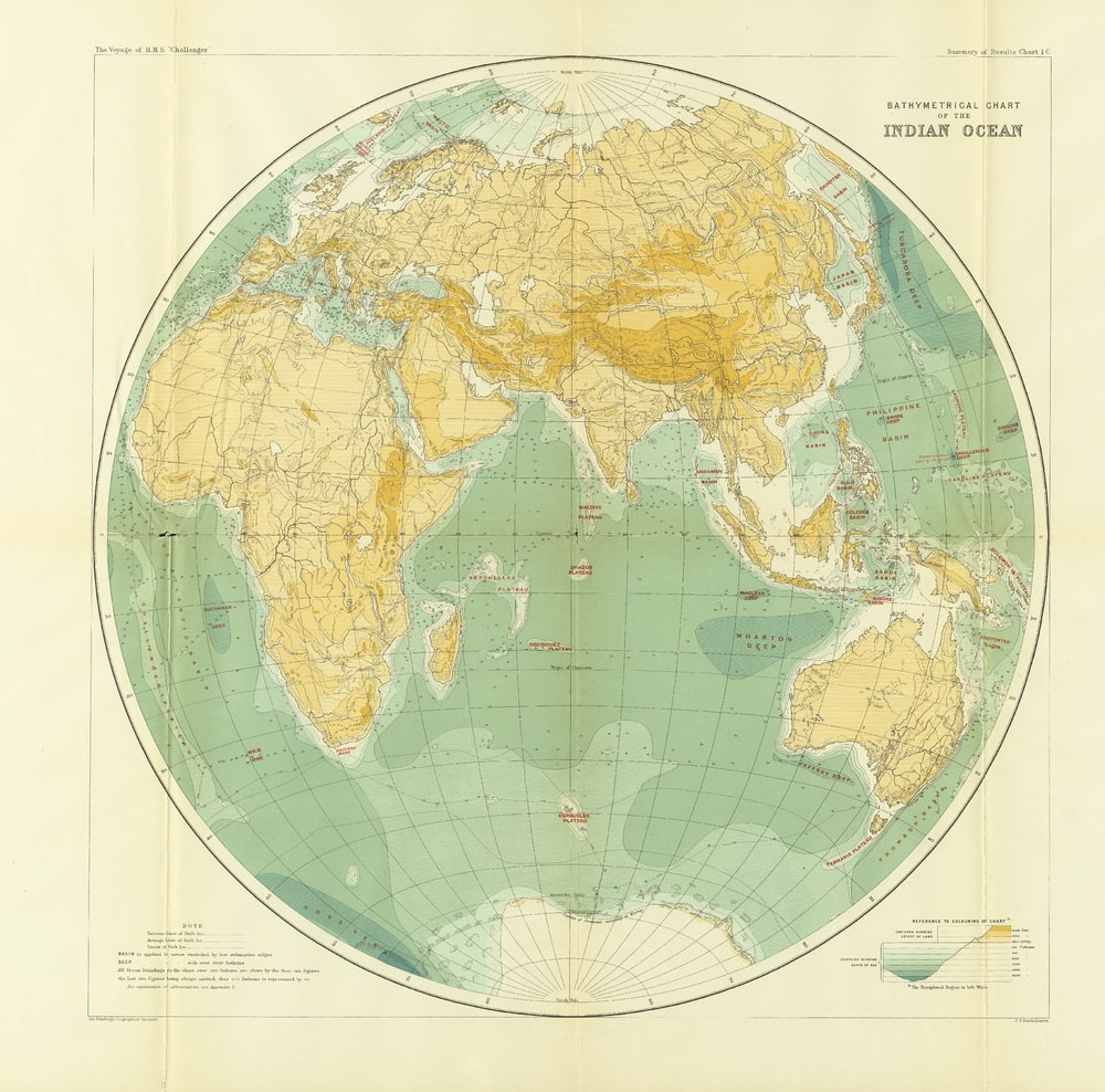 view of world map