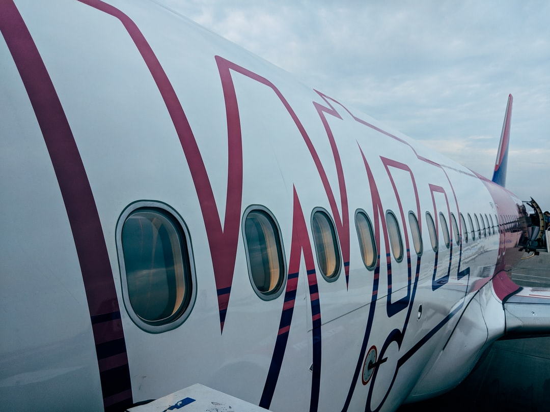 Airbus airplane of the carrier Wizzair