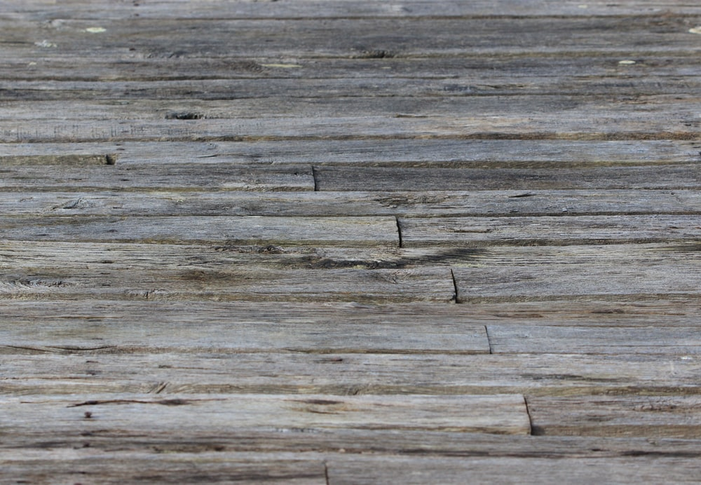 brown wooden plank with black line
