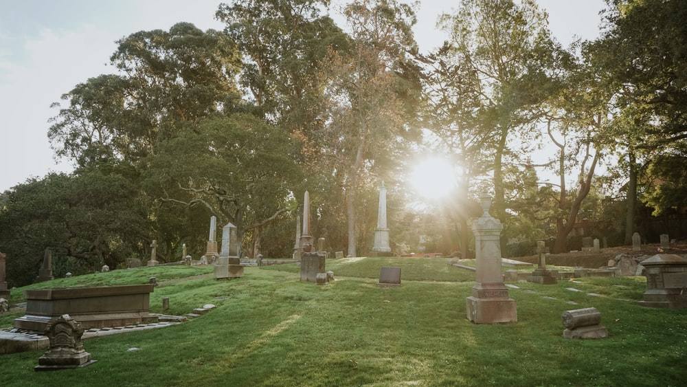 cemetery during day