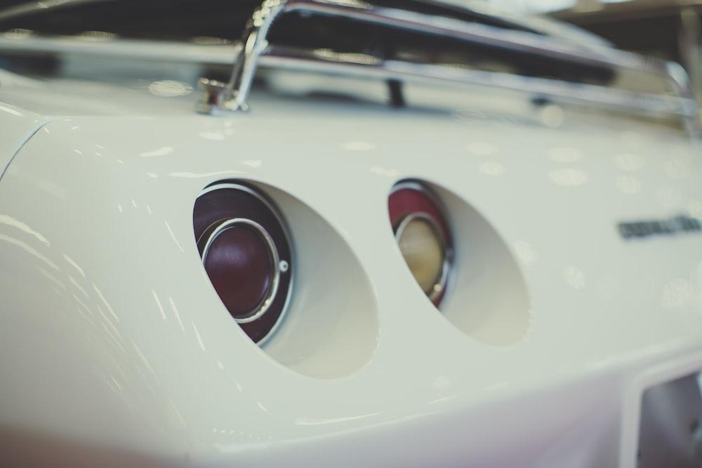view of Corvette Stingray rear end