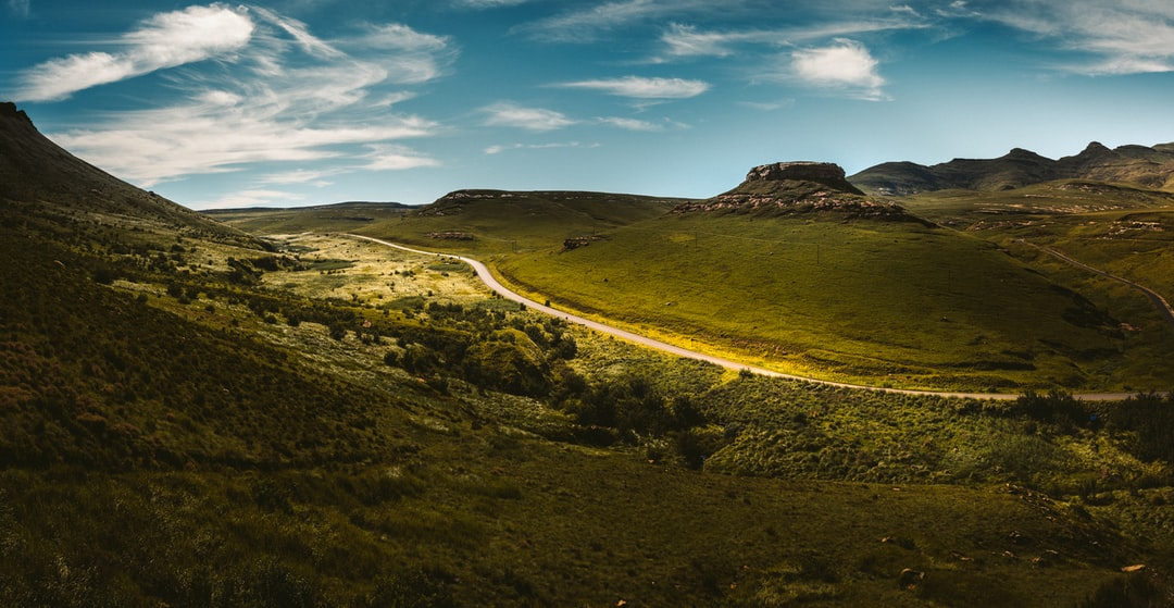 Scenic Mountain Road Trip Route In Golden Gate Highlands National Park, South Africa - unsplash