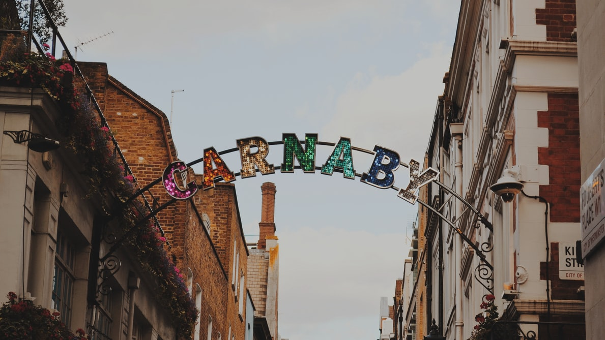 Get your OOTD ready and snap some Instagrammable pictures at Carnaby Street! Source: Unsplash