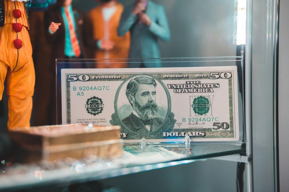 50 U.S. dollar banknote
