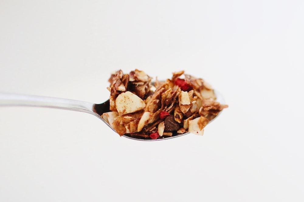 spoon of food