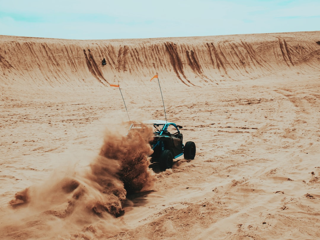 Time-Lapse Photography of A Utv Passing A Rough Road - unsplash