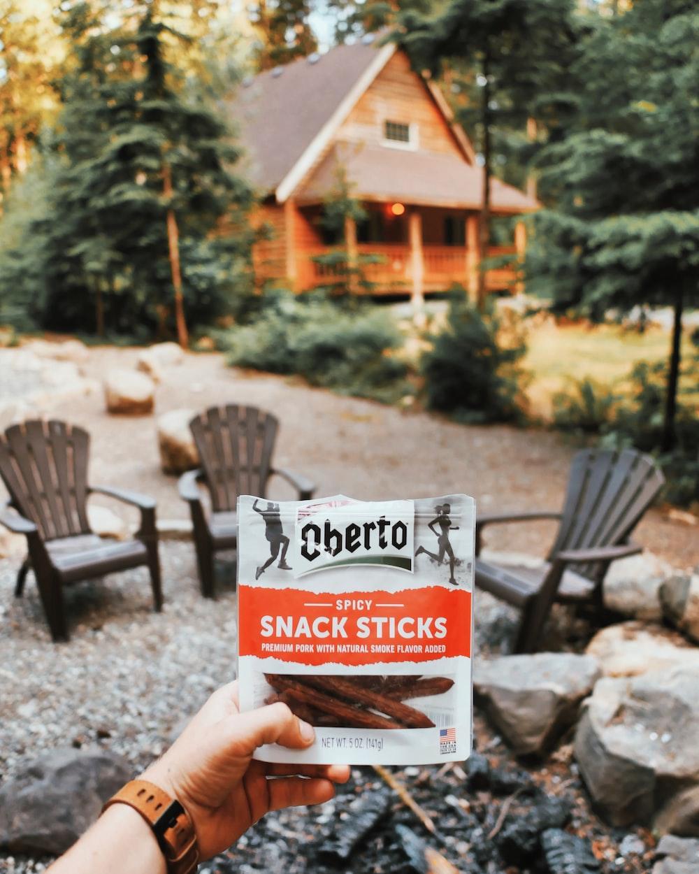 Cherto spicy snack sticks pack