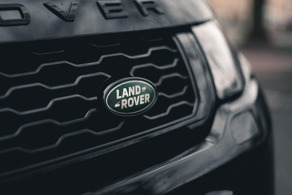 black Land Rover vehicle