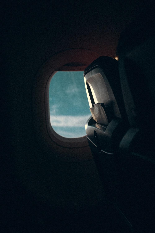 airplane chair photograph