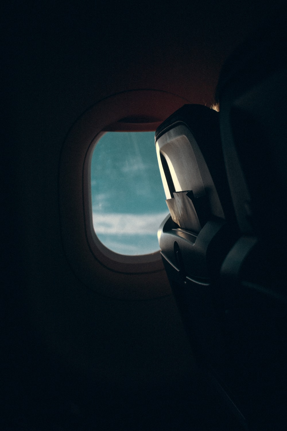 airplane chair photograph