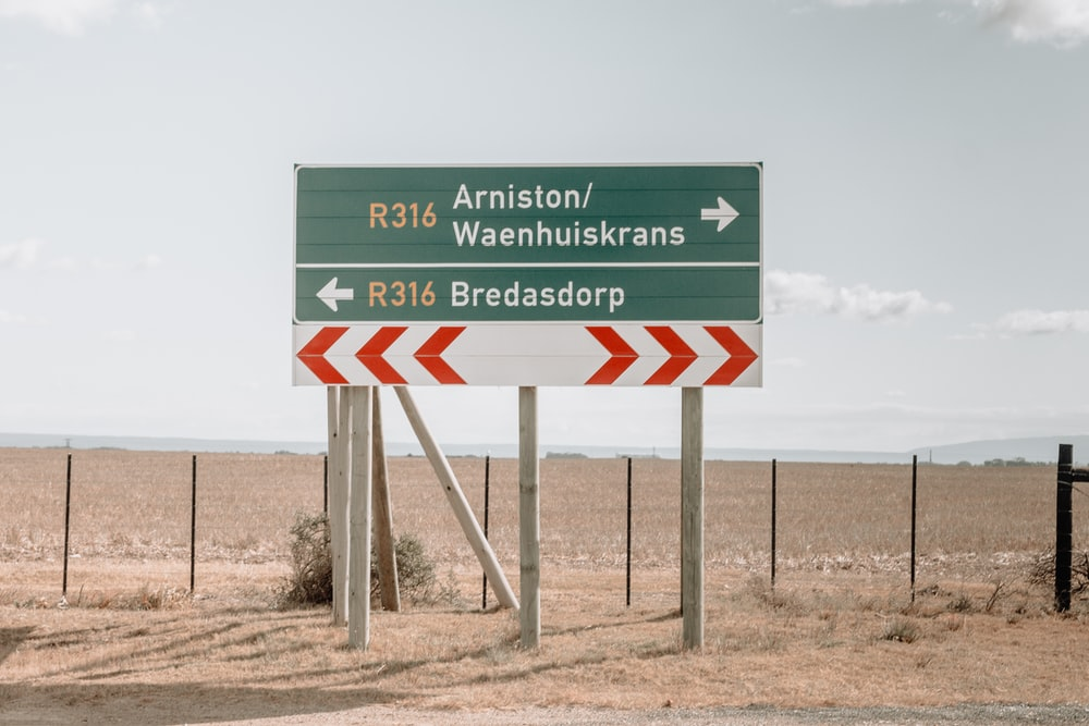 Arniston/Waenhuiskrans signage