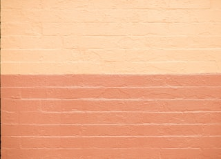 pink and beige concrete wall