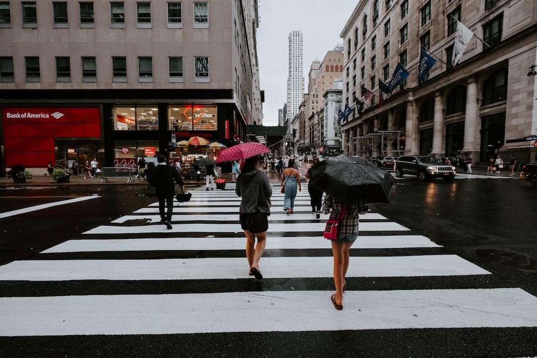 A Rainy Morning In Manhattan - unsplash