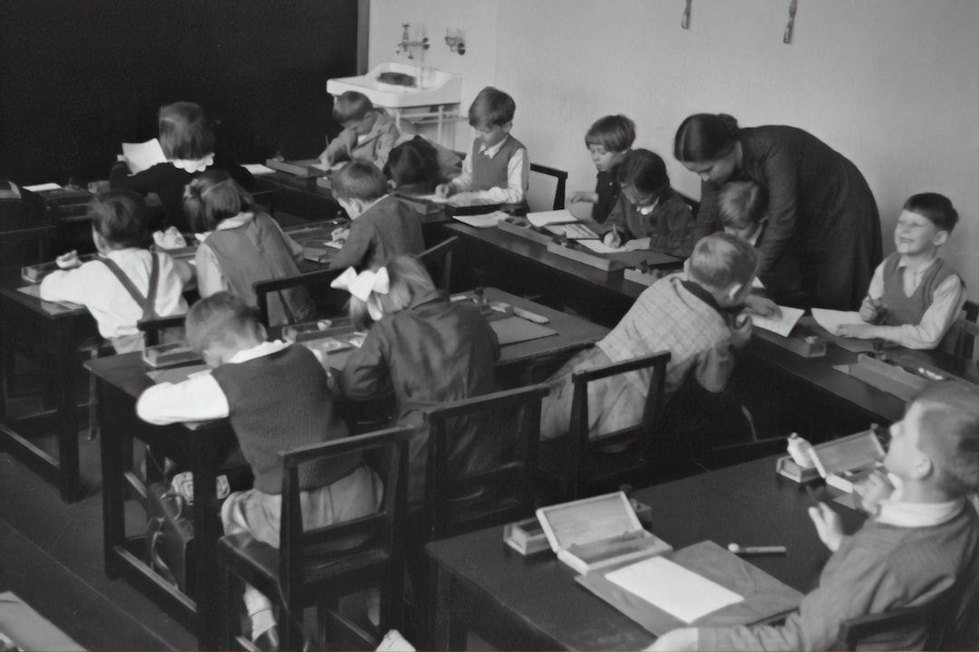 Glance into a classroom, 1935