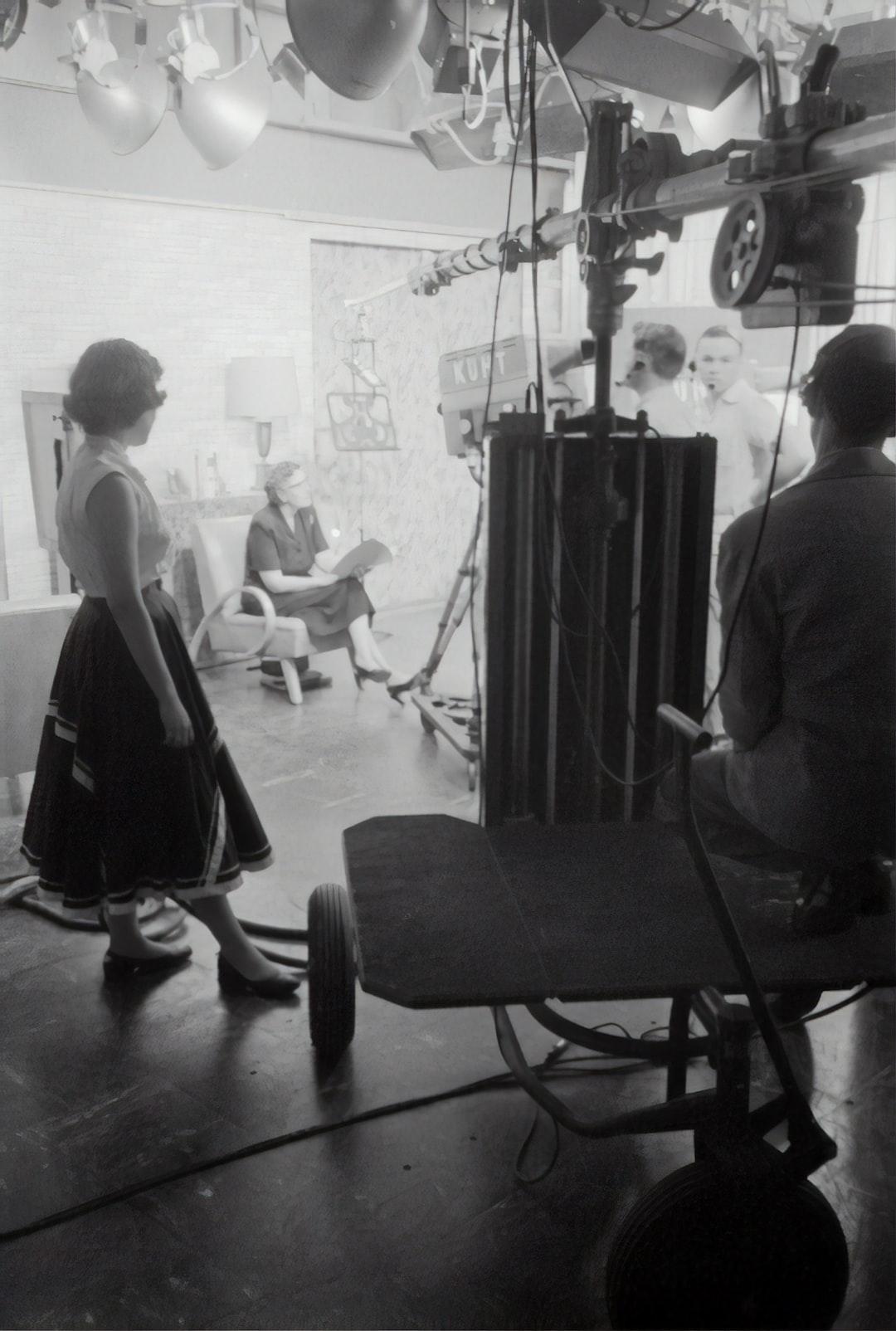 TV camera records, 1954