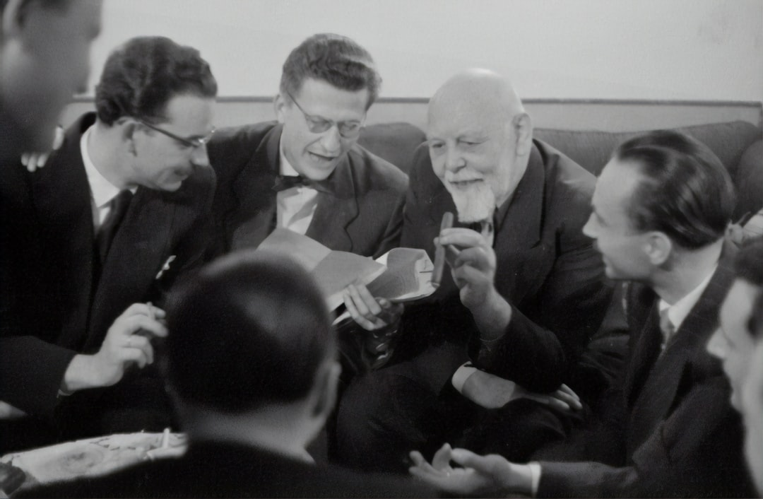 Lorenz Böhler's 70th birthday, 1955