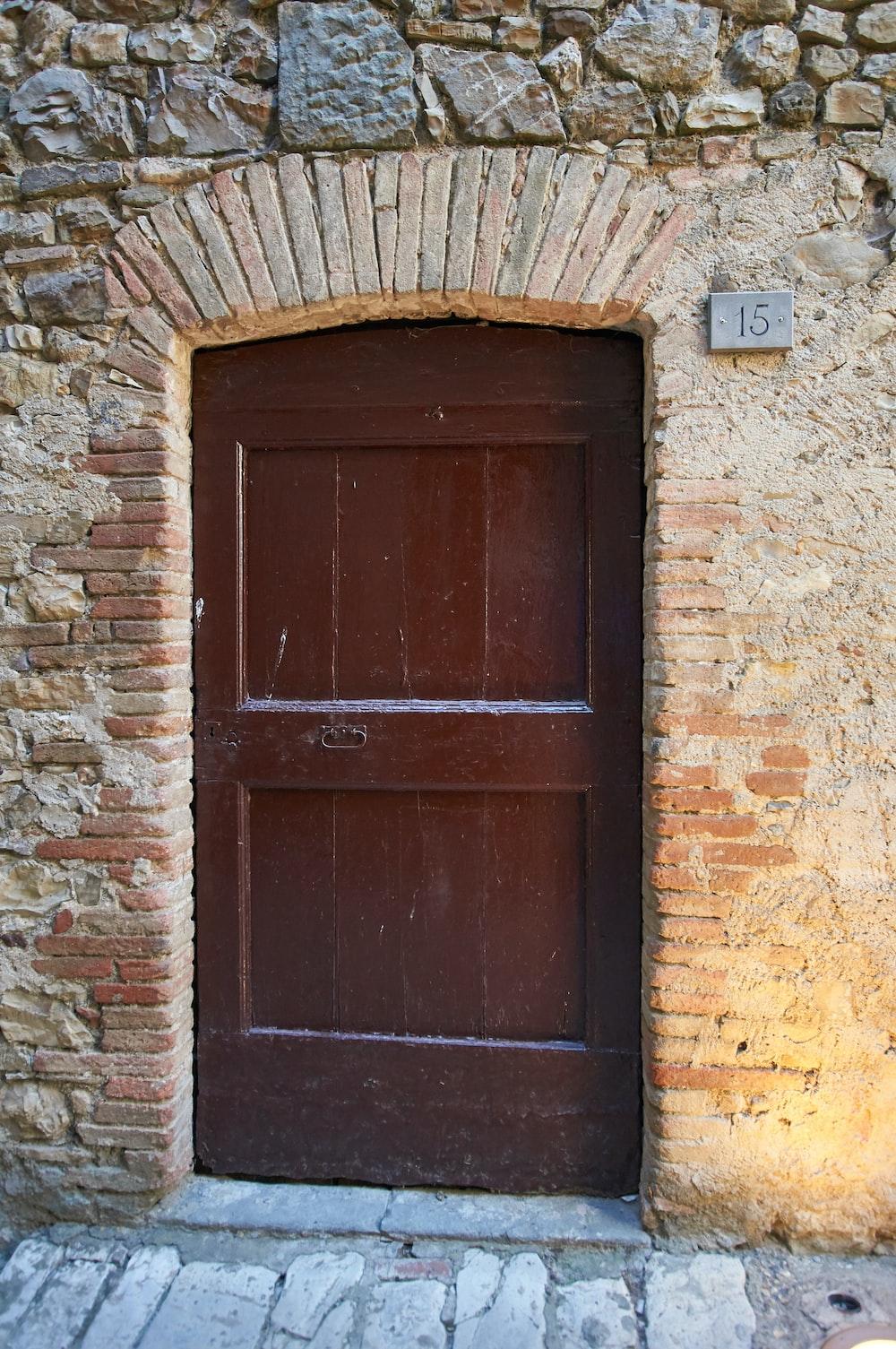 Door design wood