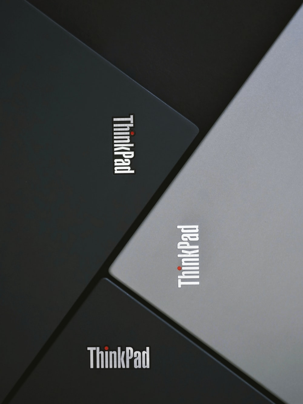 black and gray Lenovo Thinkpad