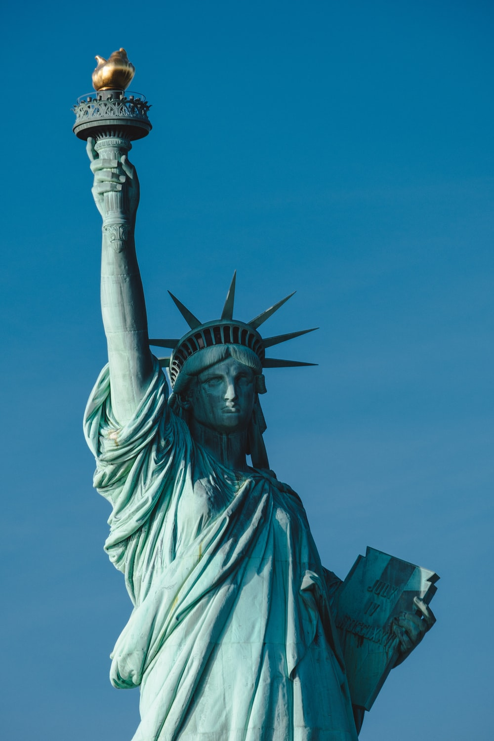 Statue of Liberty, New York during daytime