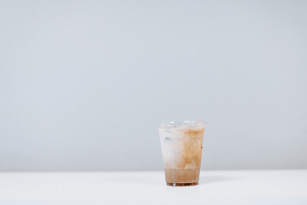 clear disposable plastic cup