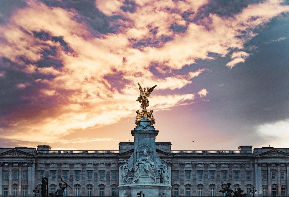 Buckingham Palace in London England