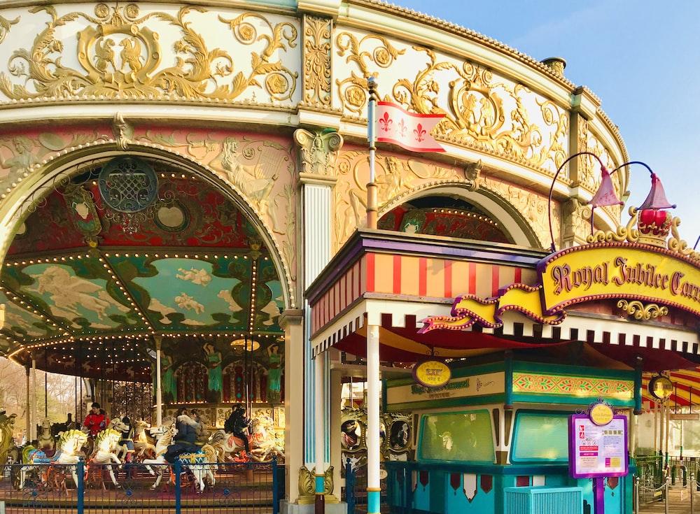 amusement ride during daytime