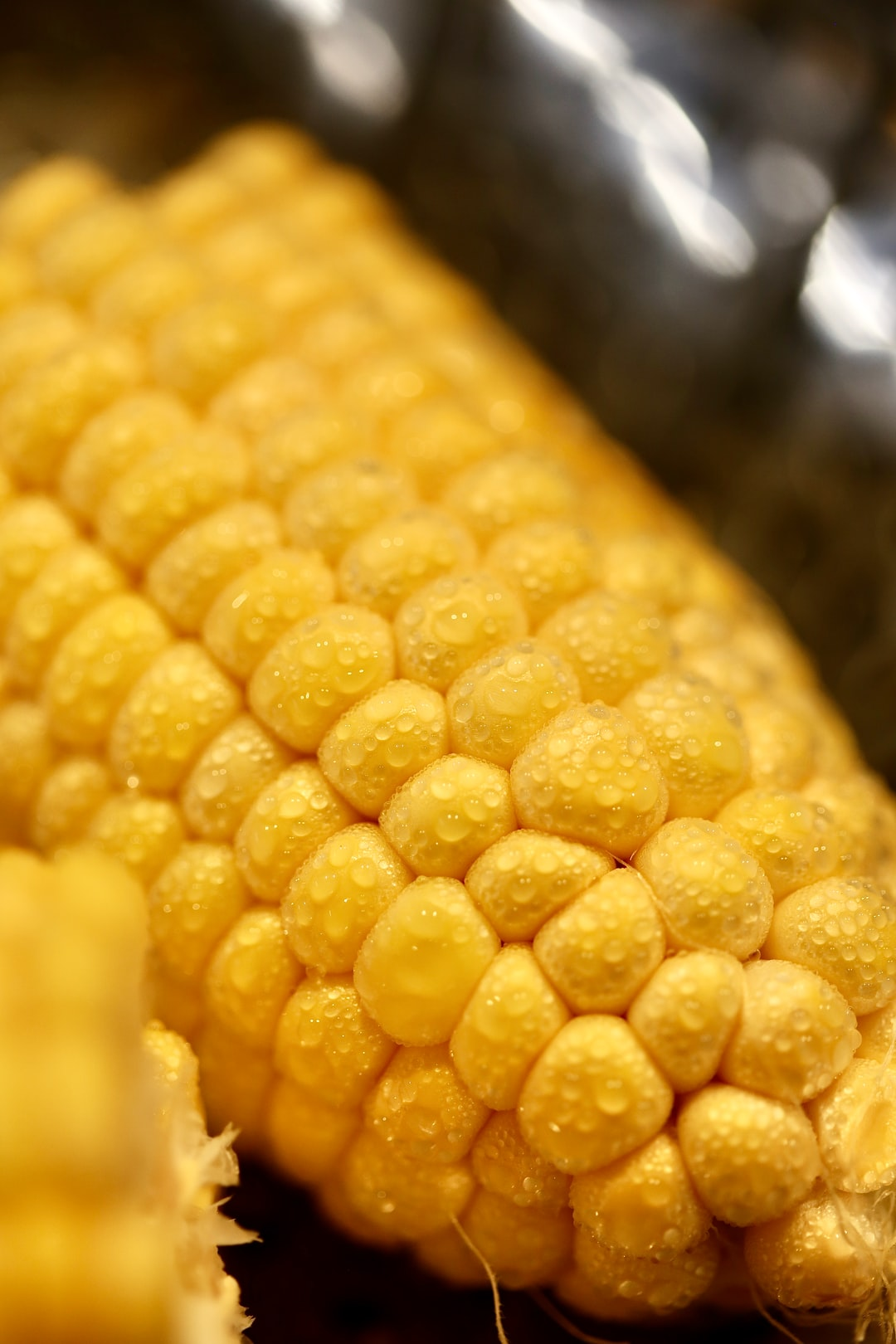 Sweetcorn in a steampot