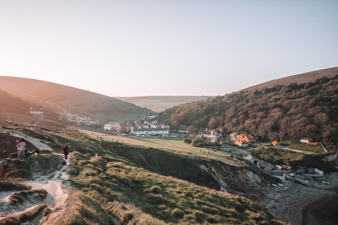 the beautiful UK hills