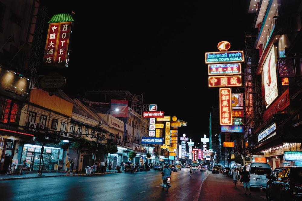 street during nighttime