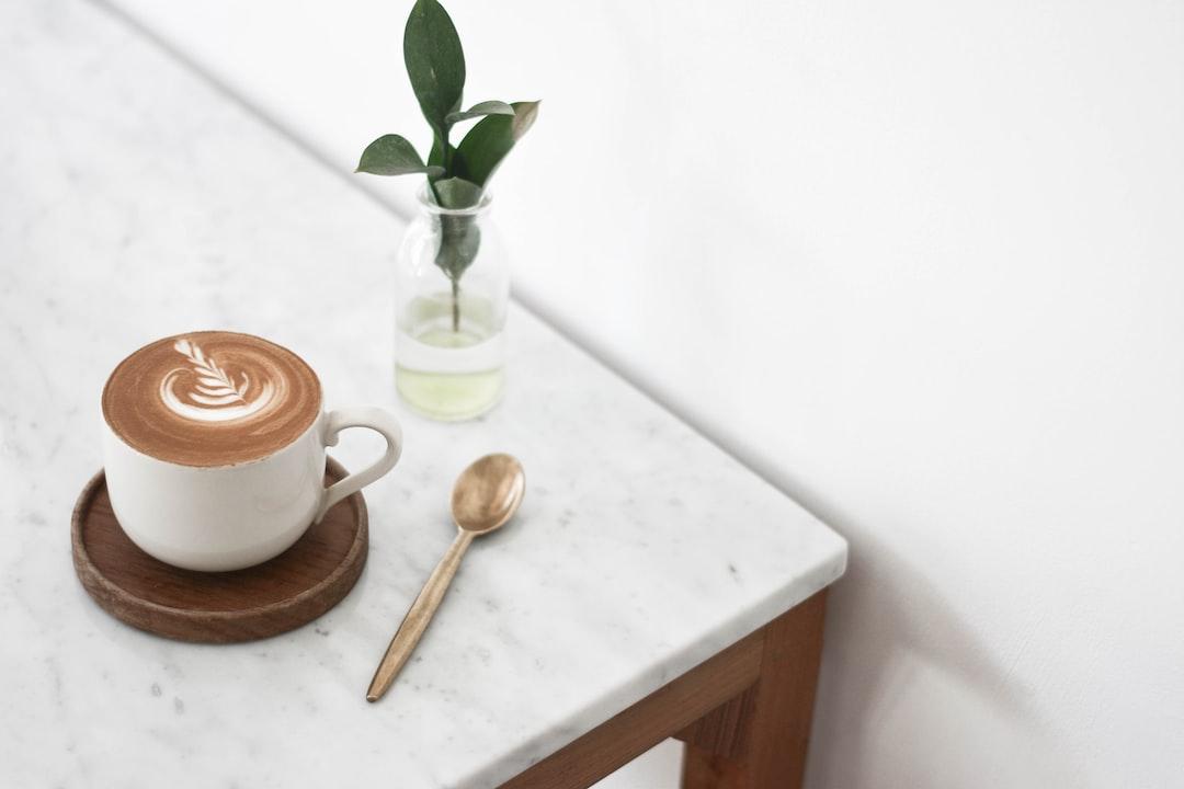 Coffee On A Marble Table - unsplash