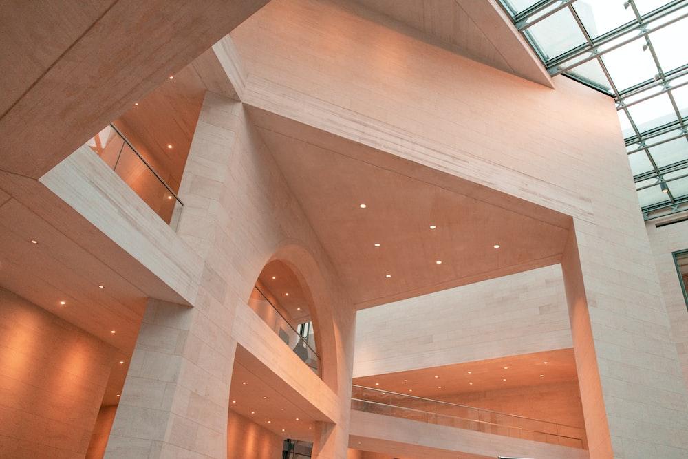 brown concrete structure