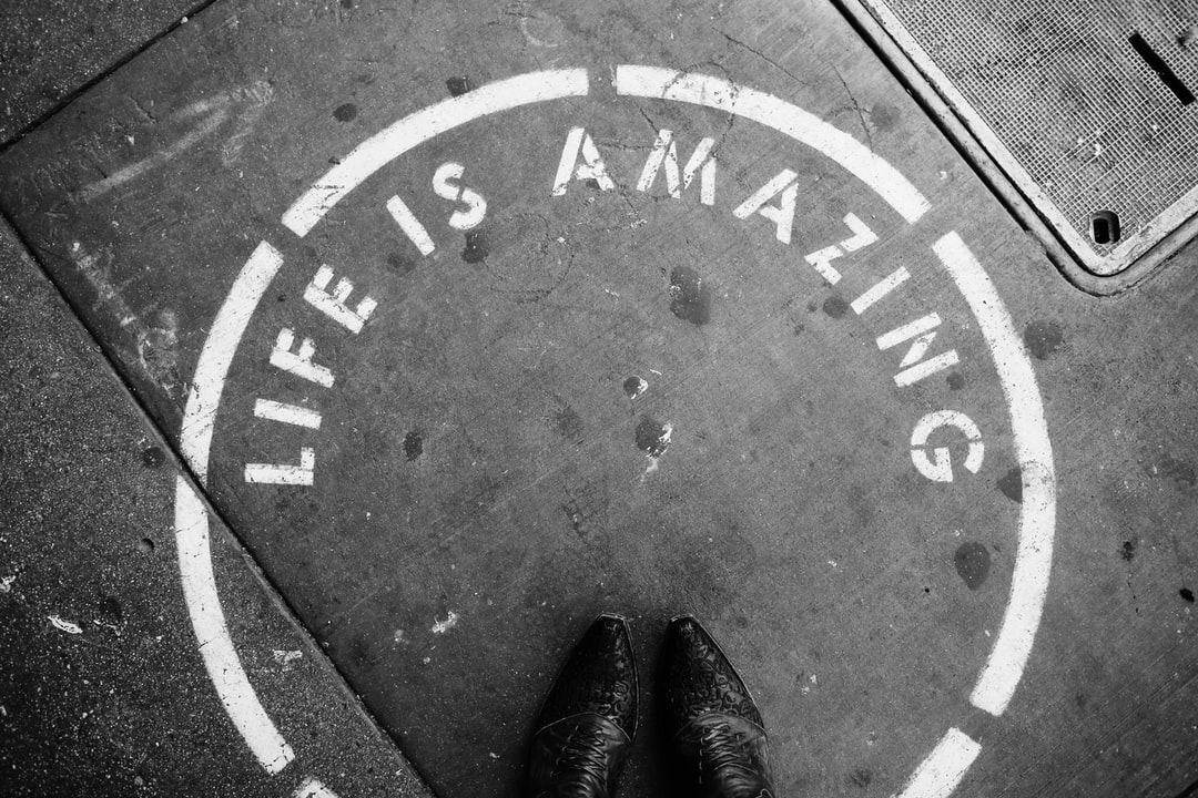 Life is amazing with boots
