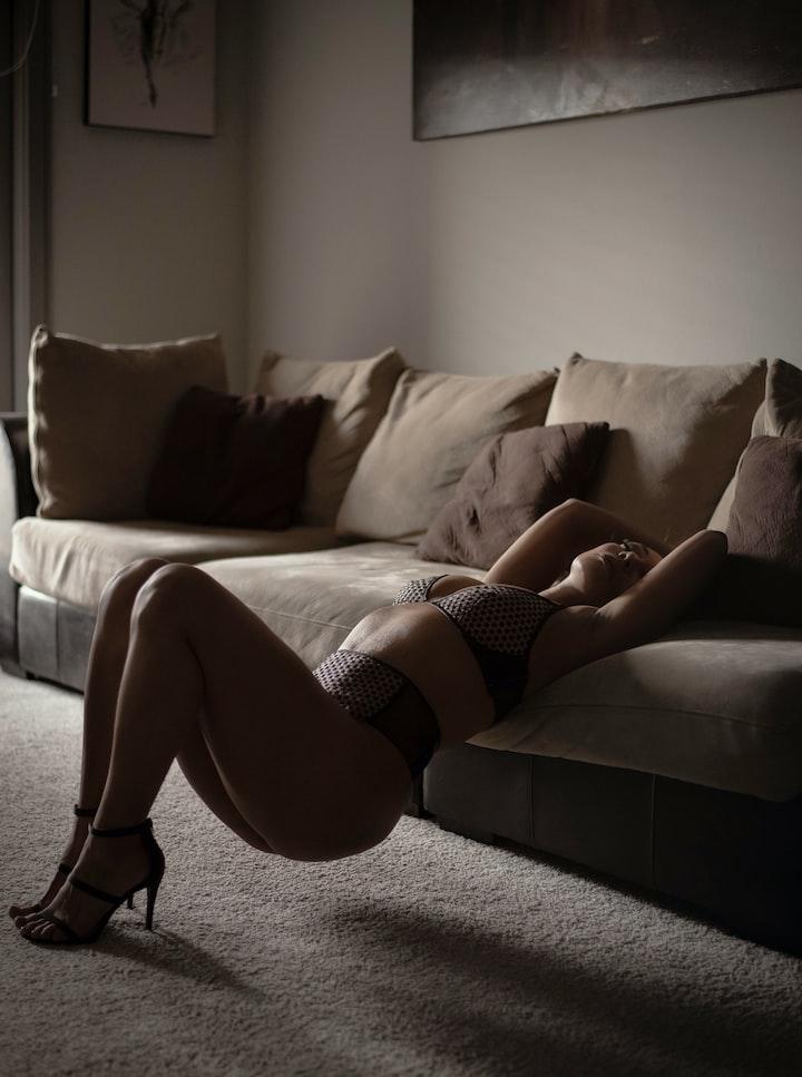 Heels in Bed