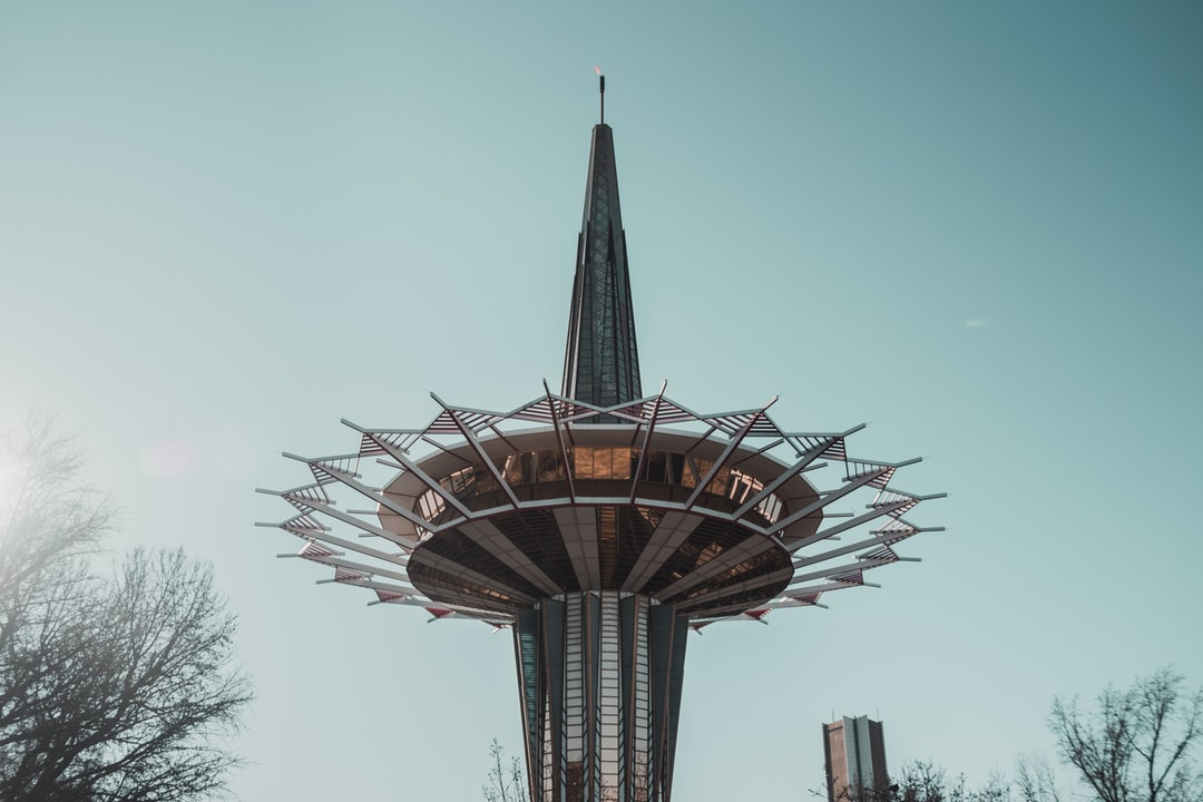 The Prayer Tower in Oral Roberts University
