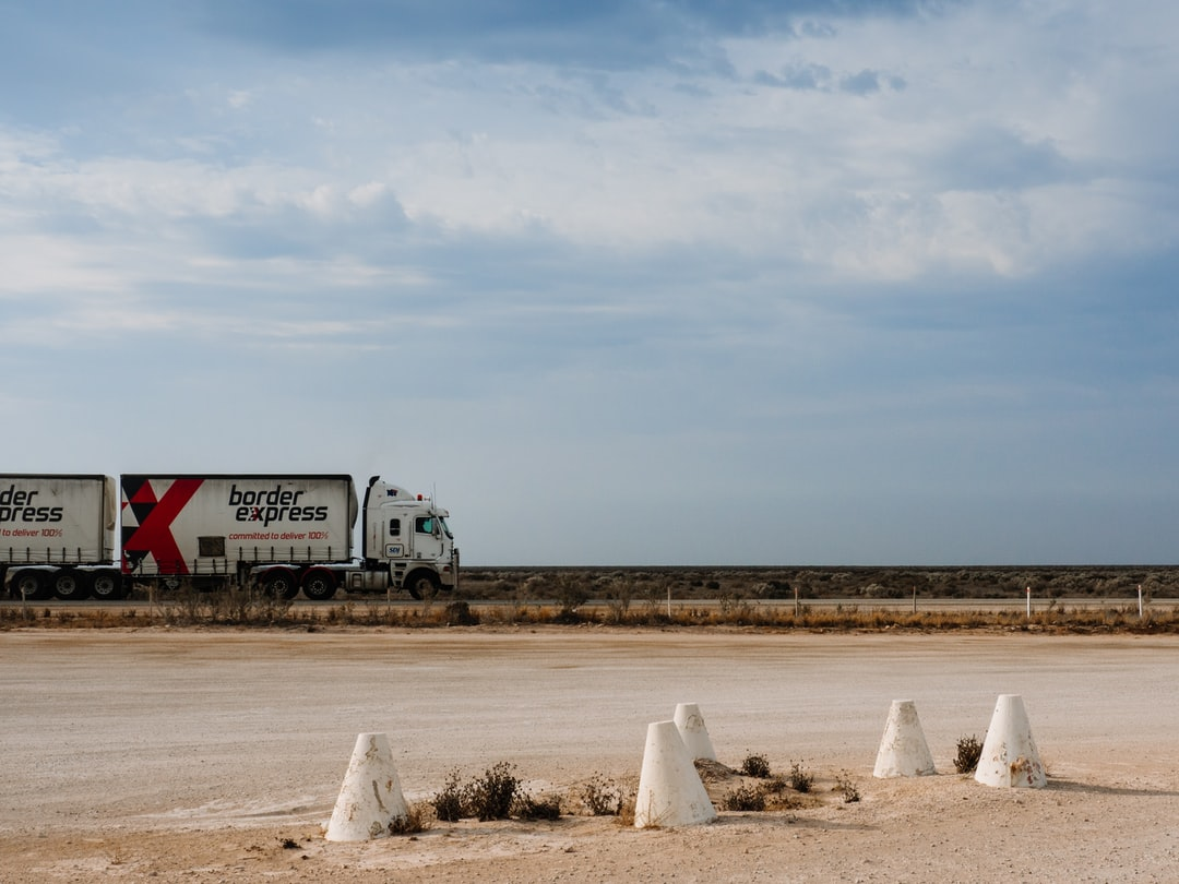 Heading across the Nullarbor - a truckies life goes on and on.