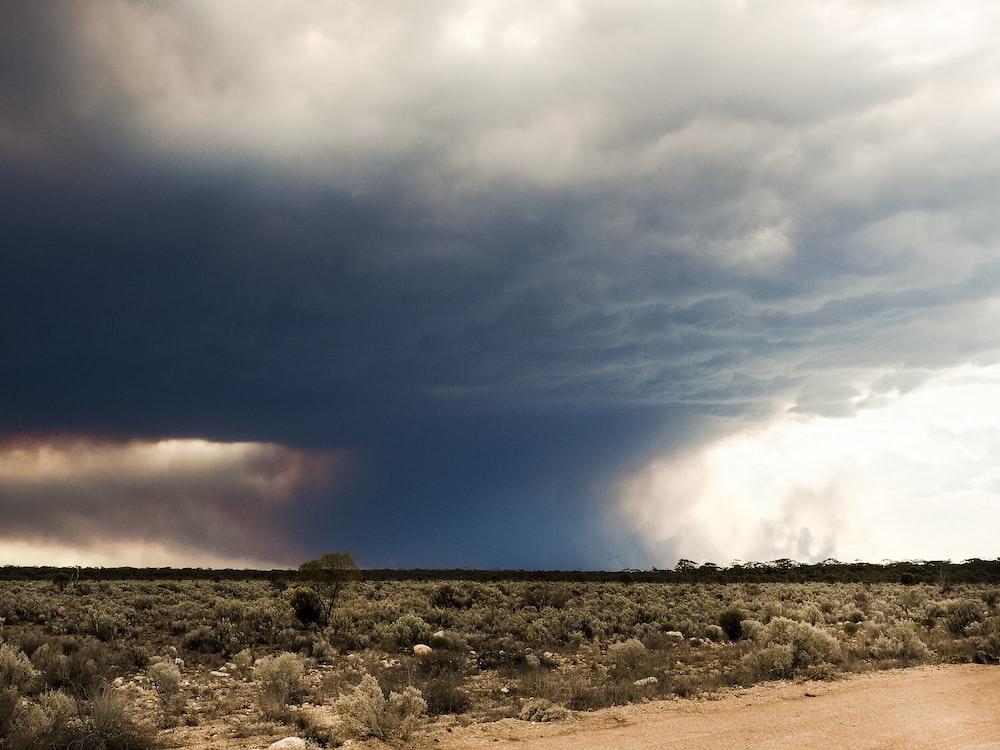 tornado at steppe