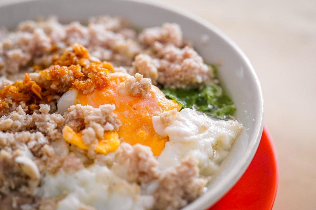 Bubur babi aka porridge