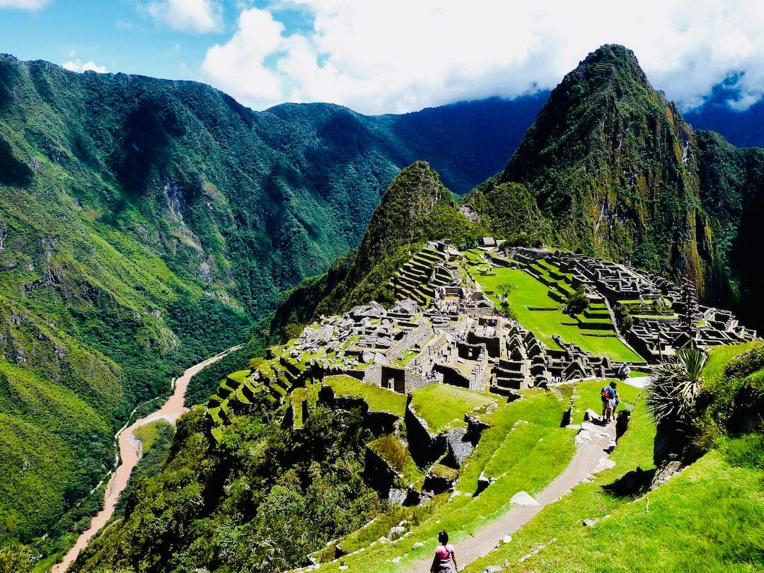 Forgotten Town Machu Picchu in Peru  made by rouichi / switzerland