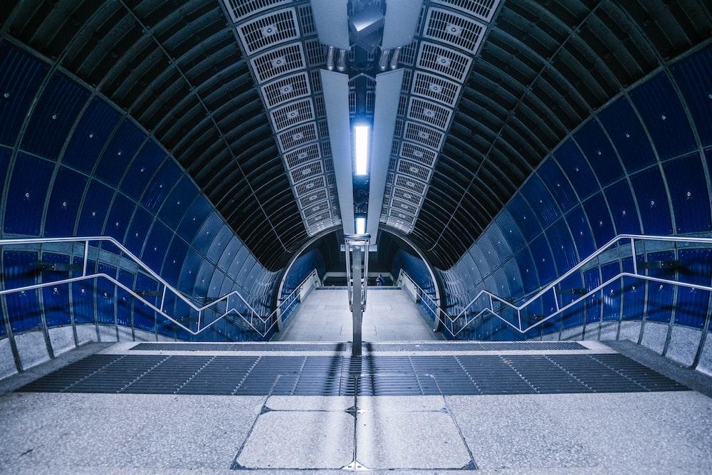 stairs on subway