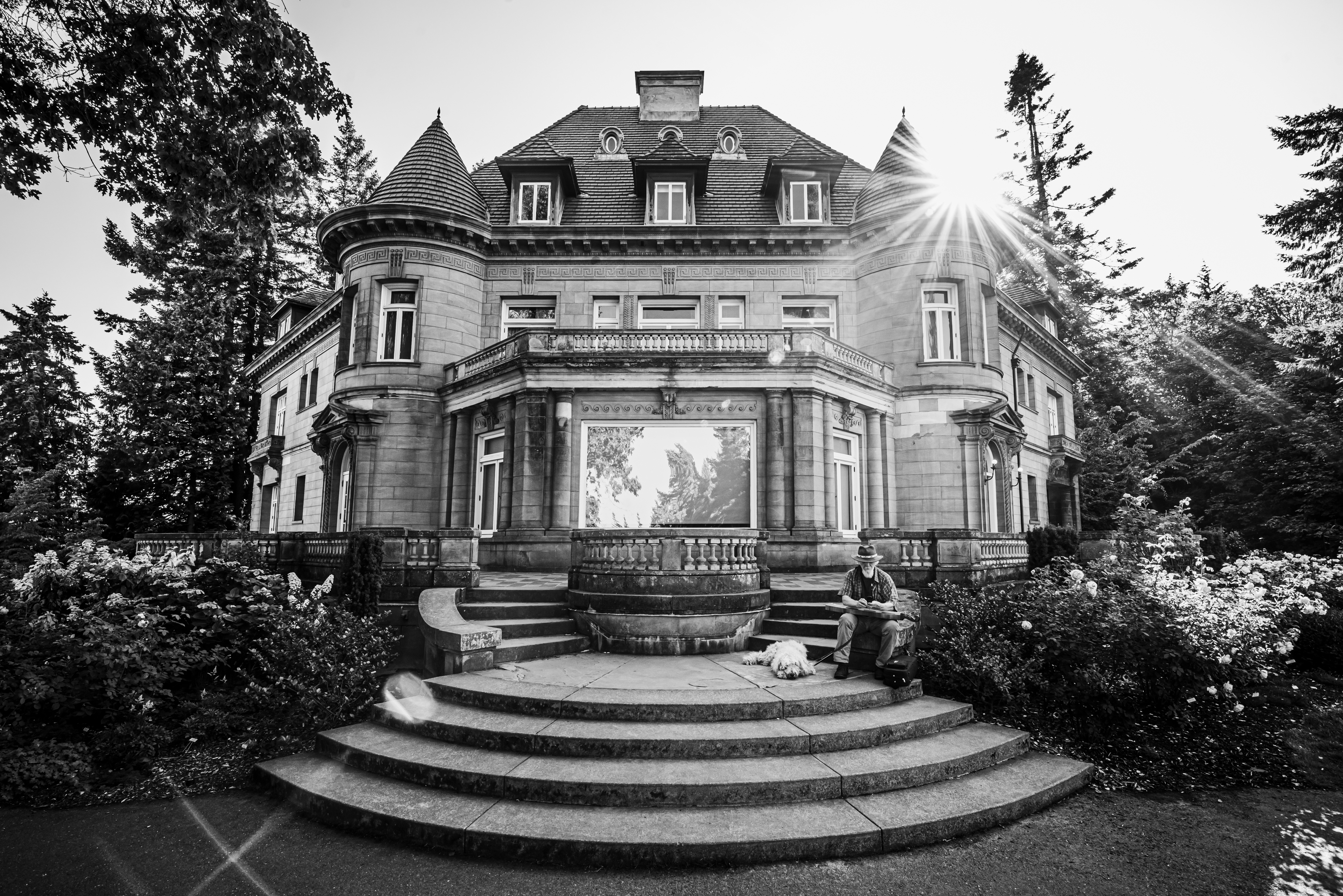 In front of the Mansion Instagram: jlcruz.photography