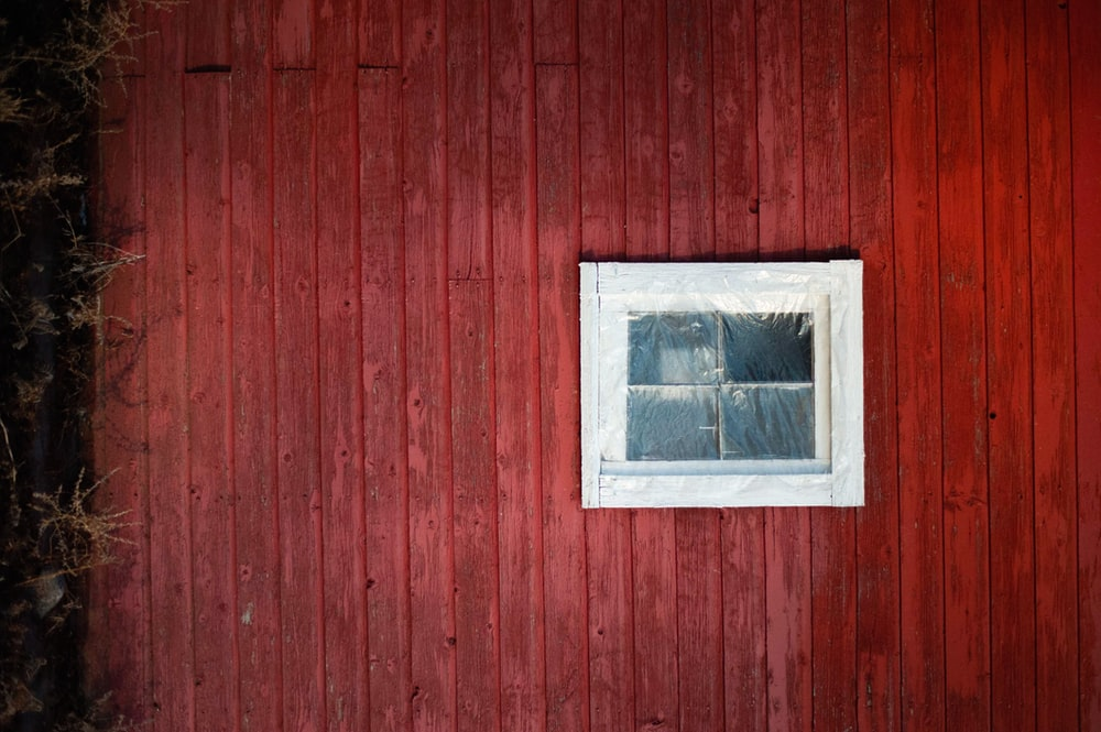 cabin with window