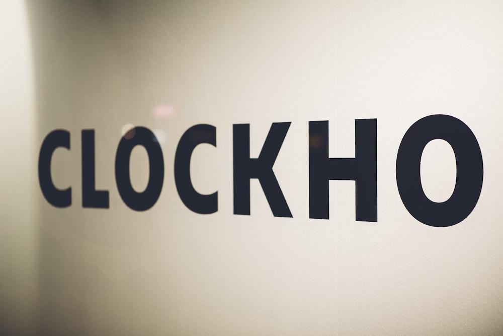 Clockho sign