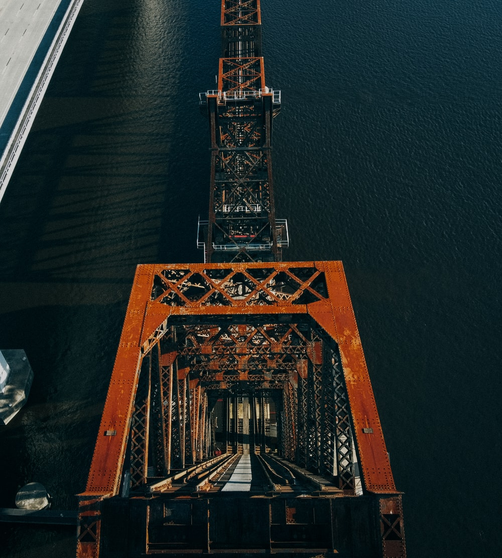 low-angle photography of bridge at daytime
