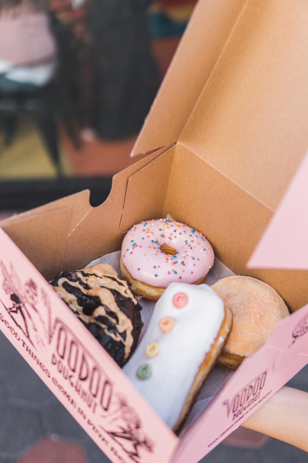 Voodoo donuts in box